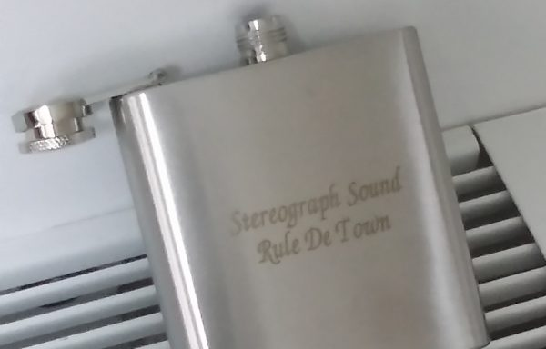 StereoGraph Sound Rule De Town – Hip Flask