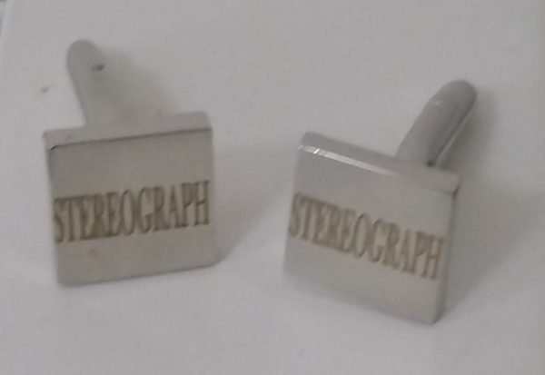 Stereograph Squared Cuff Links img