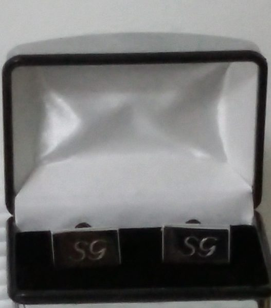 Stereograph SG Initial Cuff Links