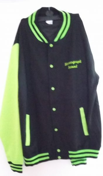 Stereograph Bi Phaser Baseball Jacket - Green img