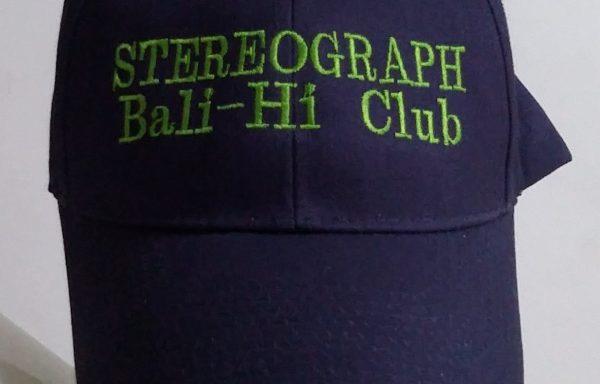 Stereograph Bali Hi Club – Baseball Cap