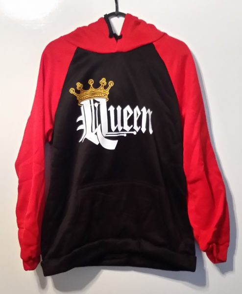 StereoGraph Queen - Hooded Jumper Top img